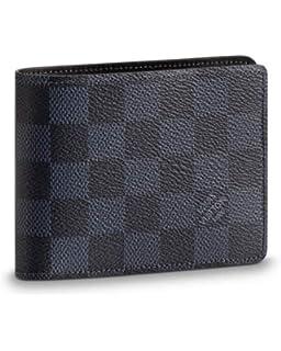 Louis Vuitton Damier cobalto lienzo múltiples tipo cartera n63211