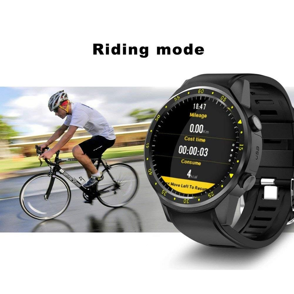 Amazon.com: SODIAL F1 Sport Smart Watch with GPS Camera ...