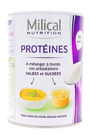 milical proteins 400 g - Versión: Neutral: Amazon.es: Salud ...