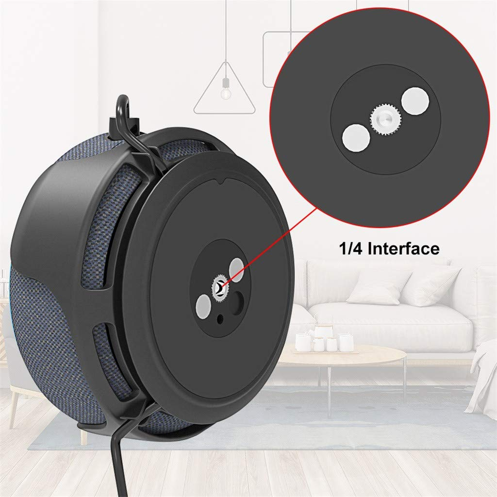 A Space-Saving Solution for Your Smart Home Speakers Without Messy Wires or Screws Xindda Magnetic Outlet Hanger Stand Outlet Wall Mount Holder for Echo Dot3rd Generation