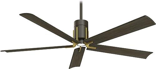 Minka-Aire F684L-ORB/TB Clean 60 Inch Ceiling Fan
