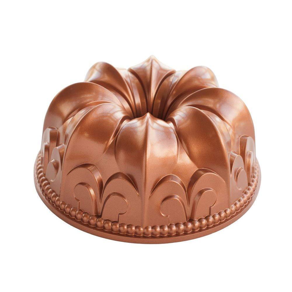 Nordic Ware Fleur De Lis Bundt Pan (Renewed)