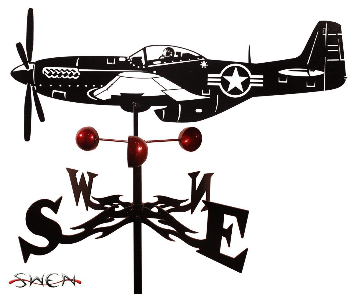 Farrell Series P51 MUSTANG AIRPLANE Weathervane ~NEW~