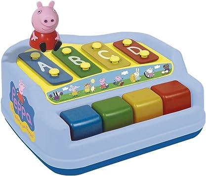 CLAUDIO REIG - Xilófono-Piano con Figura Peppa Pig en Estuche, 4 Notas (2326): Amazon.es: Juguetes y juegos