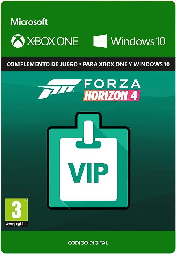 Forza Horizon 4 VIP Membership   Xbox One - Código de descarga: Amazon.es: Videojuegos