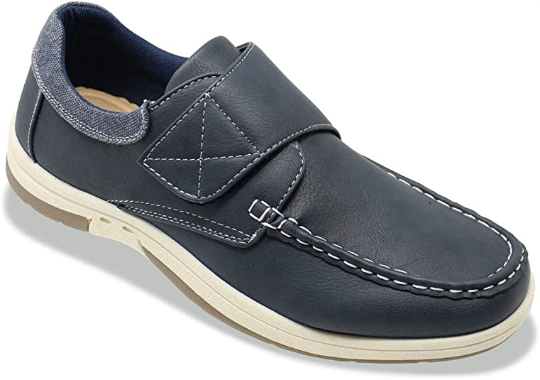 Dr Keller Mens Wide Fit Boat Shoe Touch