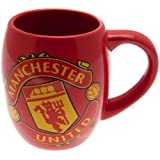 Manchester United FC Official Football Gift Tea Tub Mug - A Great Christmas / Birthday Gift Idea For Men And Boys