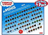 Fisher-Price Thomas & Friends Minis (Engines) Blind Bags Gift Set Party Bundle - 6 Pack