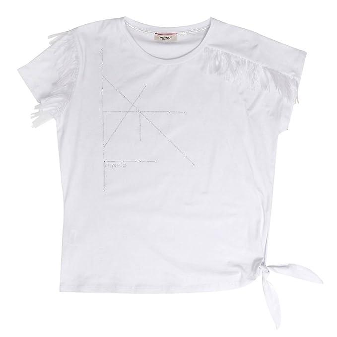 Pinko Anais T-Shirt Stretch  Amazon.it  Abbigliamento f1d3c7c2e47