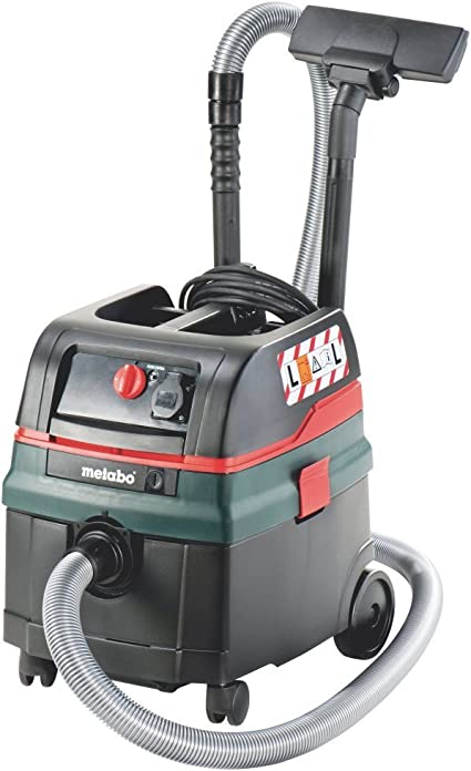 Metabo 6.02024.00 602024000-Aspirador para seco y húmedo ASR 25 L SC 1400W depósito 25 litros: Amazon.es: Coche y moto