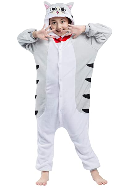 Pijama Gato Dibujos Animados Kigurumi Cat Cosplay Animal ...