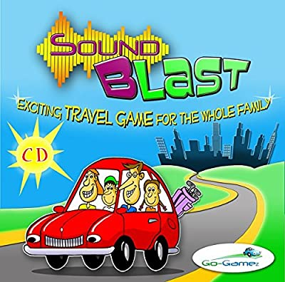 Travel Game - SOUNDBLAST - Family Fun. Great for that Car Trip, Road Trip or Family Gathering