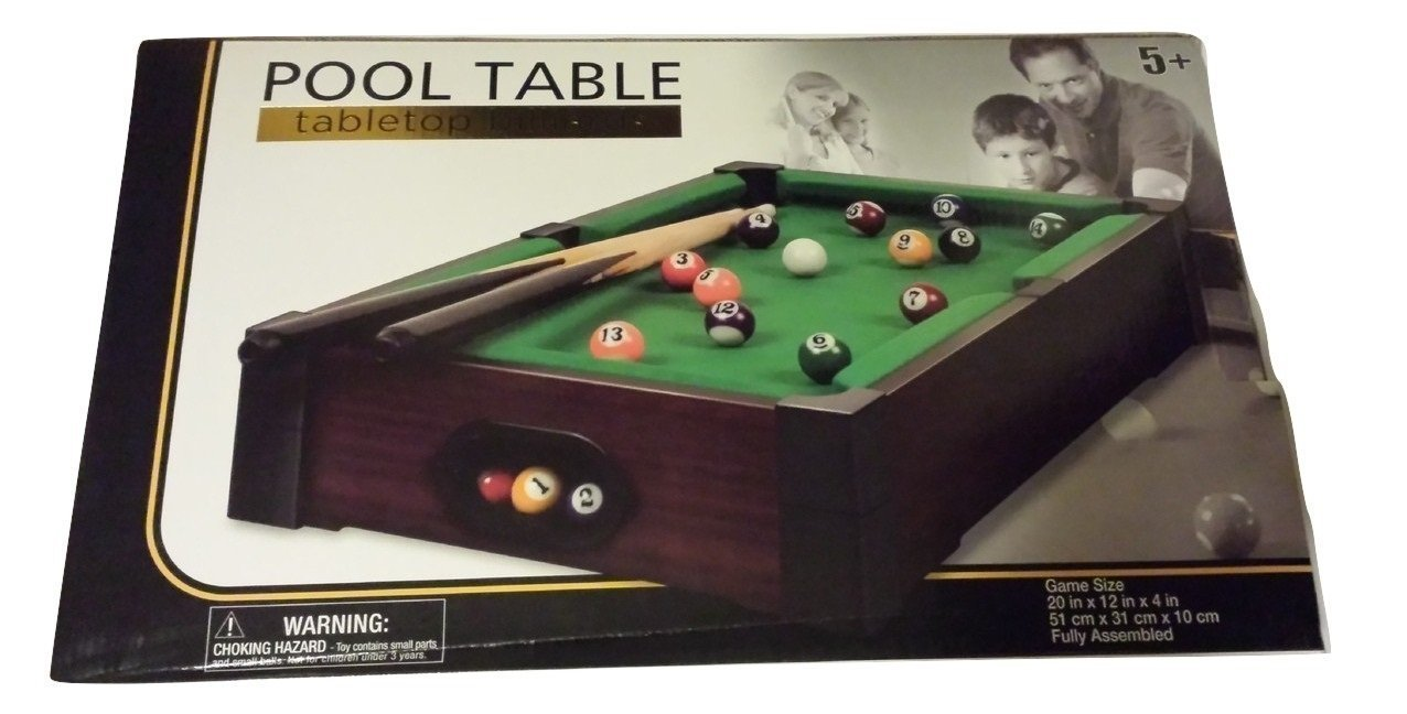 Pool Table Tabletop Billiards