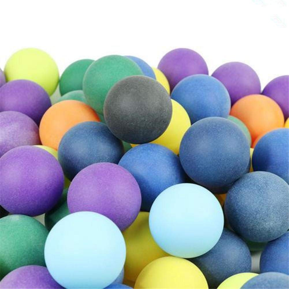 poetryer 100 Pcs Table Tennis Balls Ping Pong Balls Training Colored Ping Pong Balls For Group Games Advertising, 40mm, No Smell, Harmless Ping Pong Balls For Outdoor Sports
