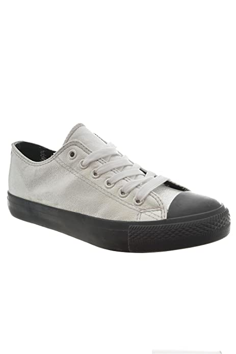 HAPPY LUCK Zapatillas de Deporte de Lona Para Hombre, Gris (Gris), 37: Amazon.es: Zapatos y complementos