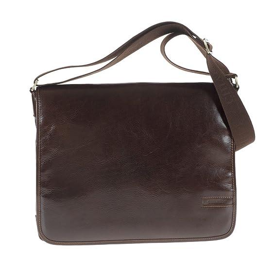 1caacc783e Campomaggi C1278 Italian Leather Messenger Bag
