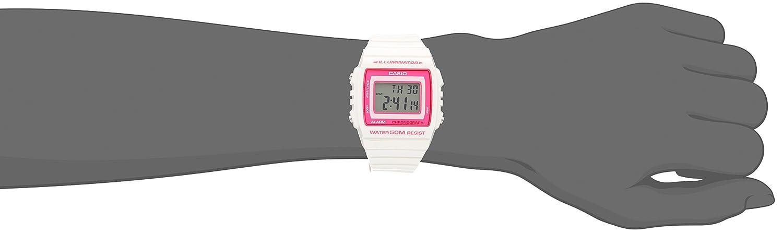 Amazon.com: Casio Kids W-215H-7A2VCF Classic Digital Quartz White Watch: Casio: Watches