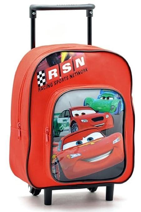 Sac à dos à roulettes enfant Cars - Disney  Amazon.fr  Bagages b3c0bfc78272