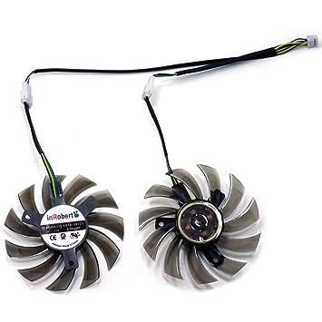 Amazon.com: inrobert 75 mm. VGA tarjeta gráfica ventilador ...