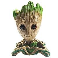 Flowerpot Treeman Baby Groot Succulent Planter Cute Green Plants Flower Pot Guardians...