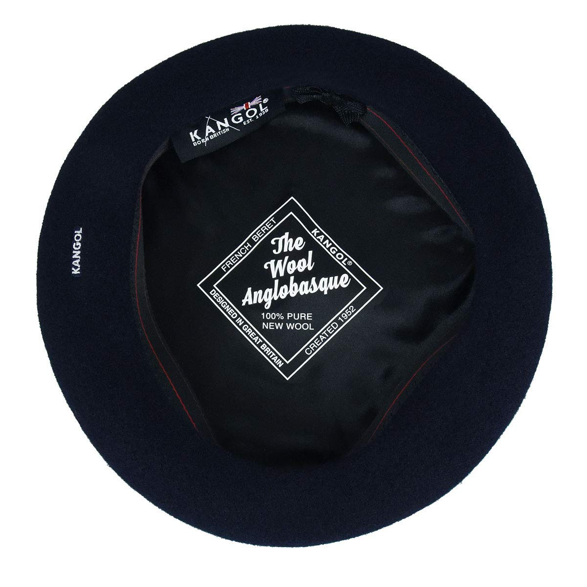 Kangol Men's Anglobasque Beret, From the Heritage Collection, Dark Blue (Large) by Kangol (Image #5)