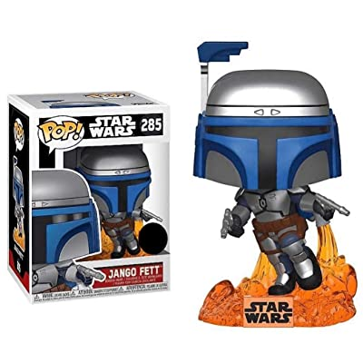 Funko Pop! Star Wars: Jango Fett #285 (Exclusive): Toys & Games