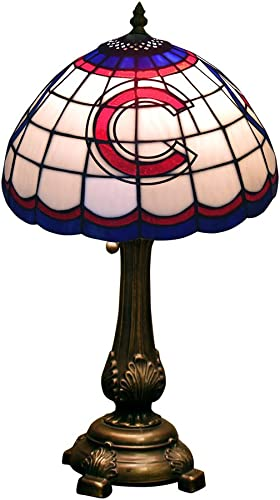 MLB Los Angeles Dodgers Tiffany Table Lamp