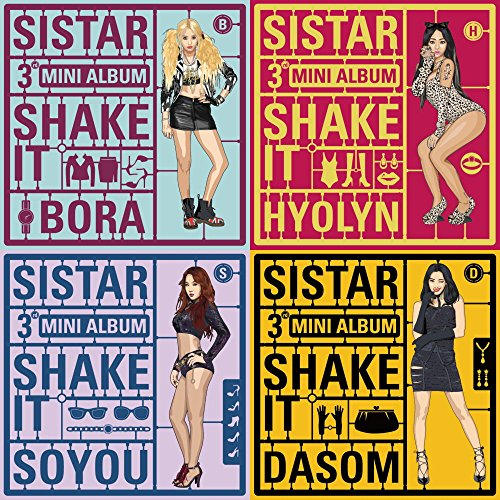 SISTAR - Shake It (3rd Mini Album) Random Cover with Extra Photocards (Store Gift)