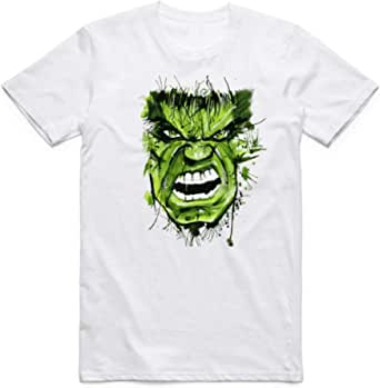 White Color The Hulk T-Shirt For Men - size XXL