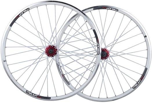Zyy Juego Ruedas Bicicleta 26 Pulgadas, llanta de MTB de Doble ...