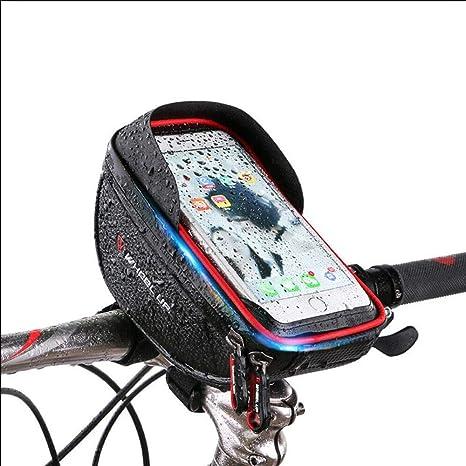 STOOT - Bolsa para Manillar de Bicicleta o Bicicleta (hasta 15,2 ...