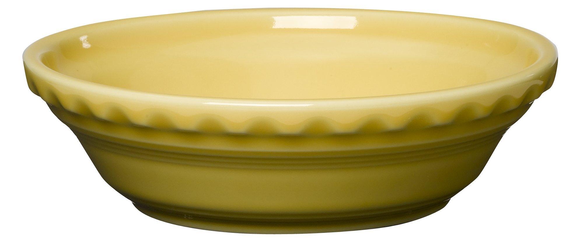 Fiesta 6-3/8-Inch Small Pie Plate, Sunflower