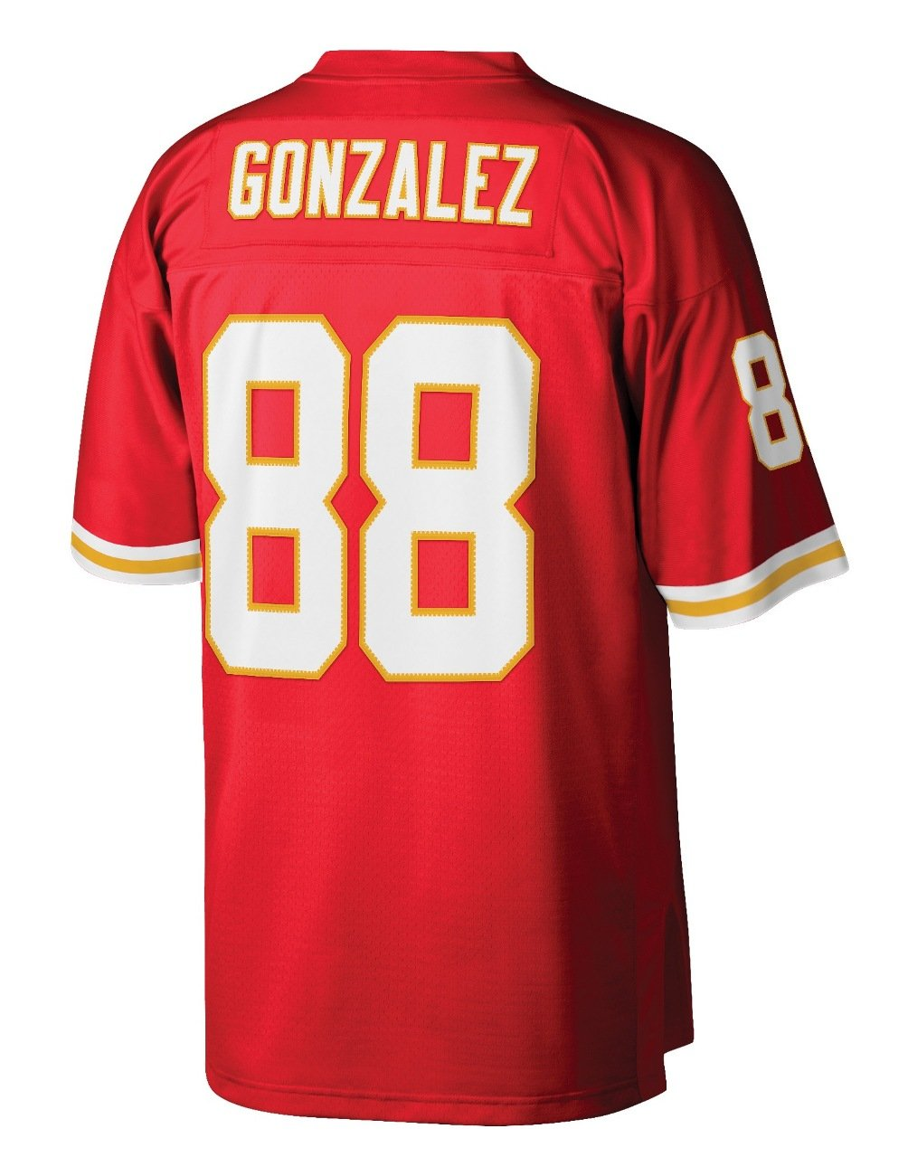 buy popular bf804 d00ab Mitchell & Ness Tony Gonzalez Kansas City Chiefs NFL Throwback Premier  Jersey