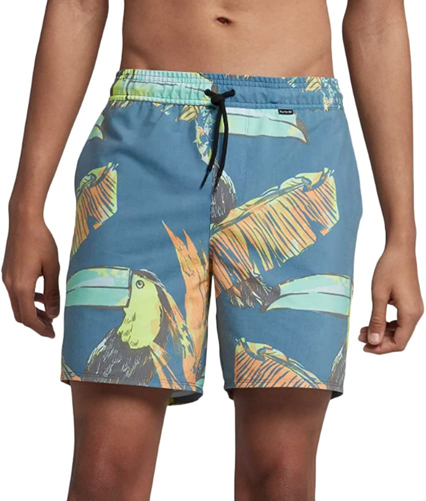 Hurley Men's Paradise Las Vegas Mall Volley Be super welcome 17 Short