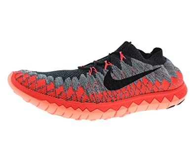 | Nike Free 3.0 V4 Wolf Grey Red Mens Barefoot