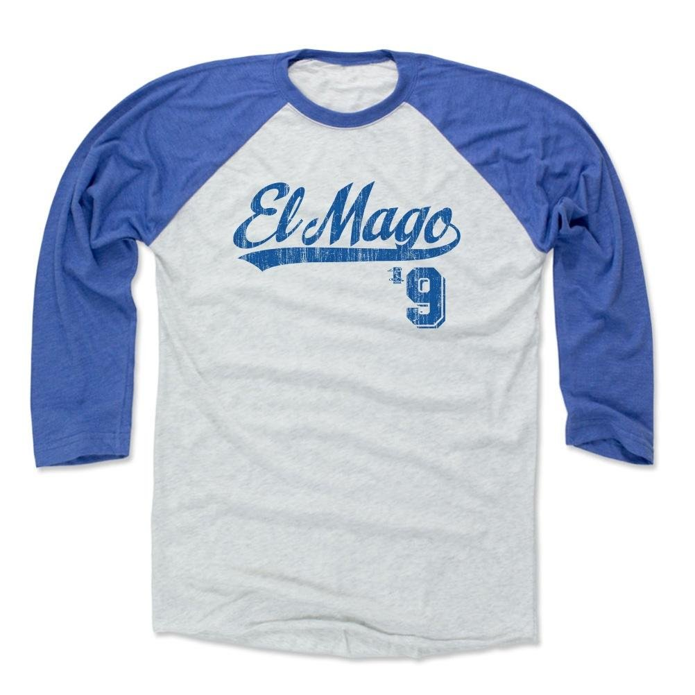 half off bfbc3 8b21b 500 LEVEL Javy Baez El Mago Baseball Tee - Unisex Adult - Chicago Baseball  Raglan Shirt - Javier Baez Players Weekend