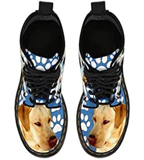 Labrador Retriever Double Side Print Boots For Women