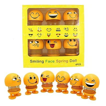 Amazon.com: GESKS Muñeca de primavera sonriente, cabeza de ...
