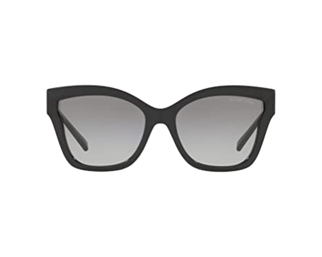 Image Unavailable. Image not available for. Color  Michael Kors MK2072  333211 Black Barbados Square Sunglasses ... ce52719fd8