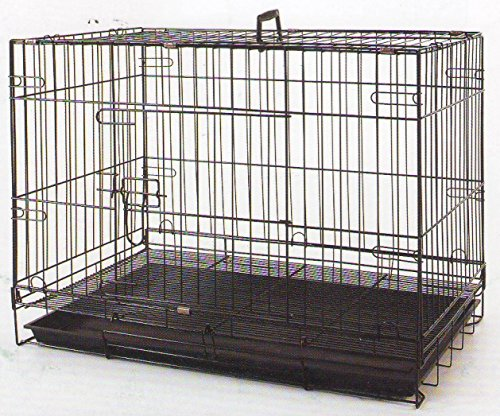 Puppies/Kitten/Rabbit Pet Suitcase Style Folding Training Crate Cage 30Length