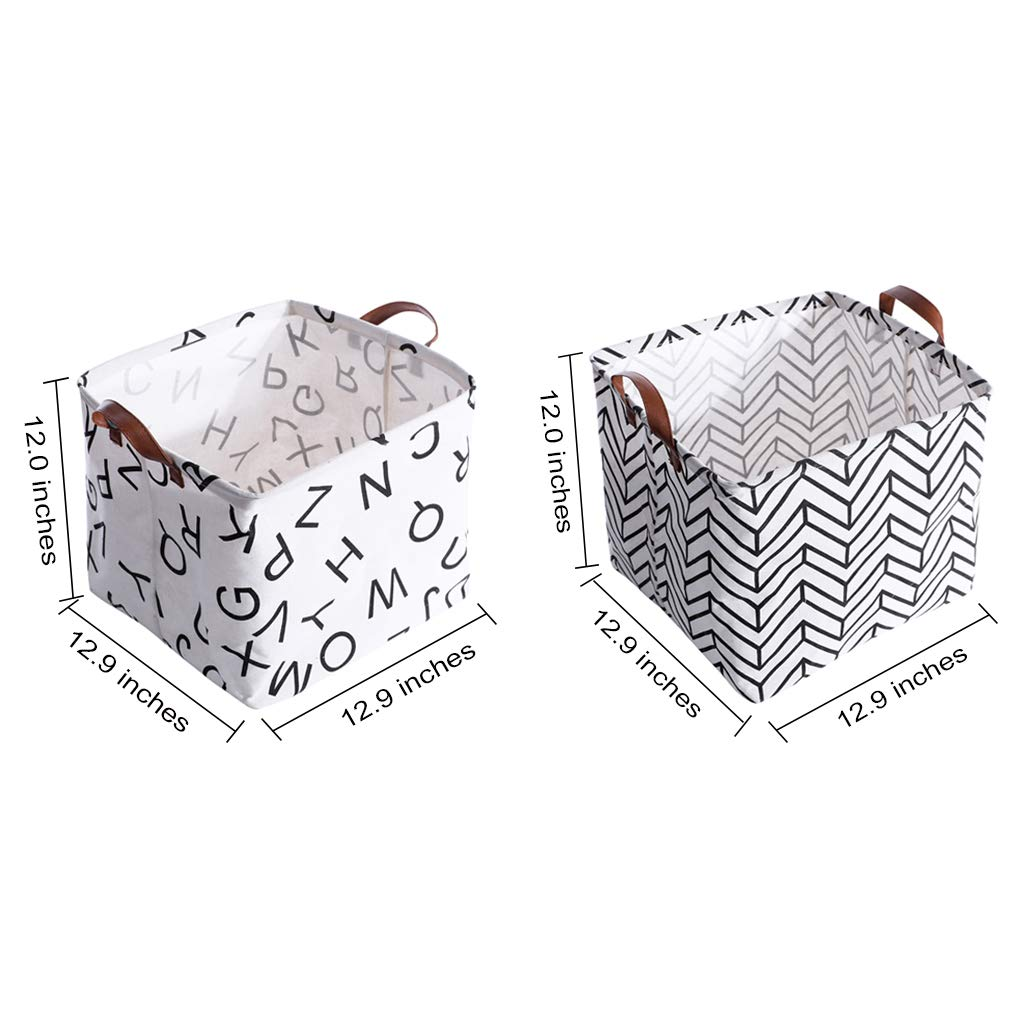 Makeup Keys,Shelves,Desk,Liitle Items 4 Pack Home Decor Toy Organizer Hamper for Baby,Kids,Pets,Office Rainbow-Lee Small Canvas Storage Bins Colorful Mini Cute Foldable Fabric Storage Basket Box
