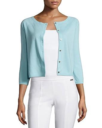 615fb374e2 Tory Burch Women s Rosemary Cashmere Logo Button Cardigan Sweater Crete  X-Large at Amazon Women s Clothing store