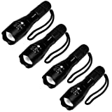 Amazon Price History for:4 Pcs Military Grade 5 Mode XML T6 S3000 Lumens Tactical Led Waterproof Flashlight - Get 4 for Only $29.95