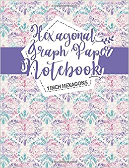 hexagonal graph paper notebook 1 inch hexagons organic chemistry