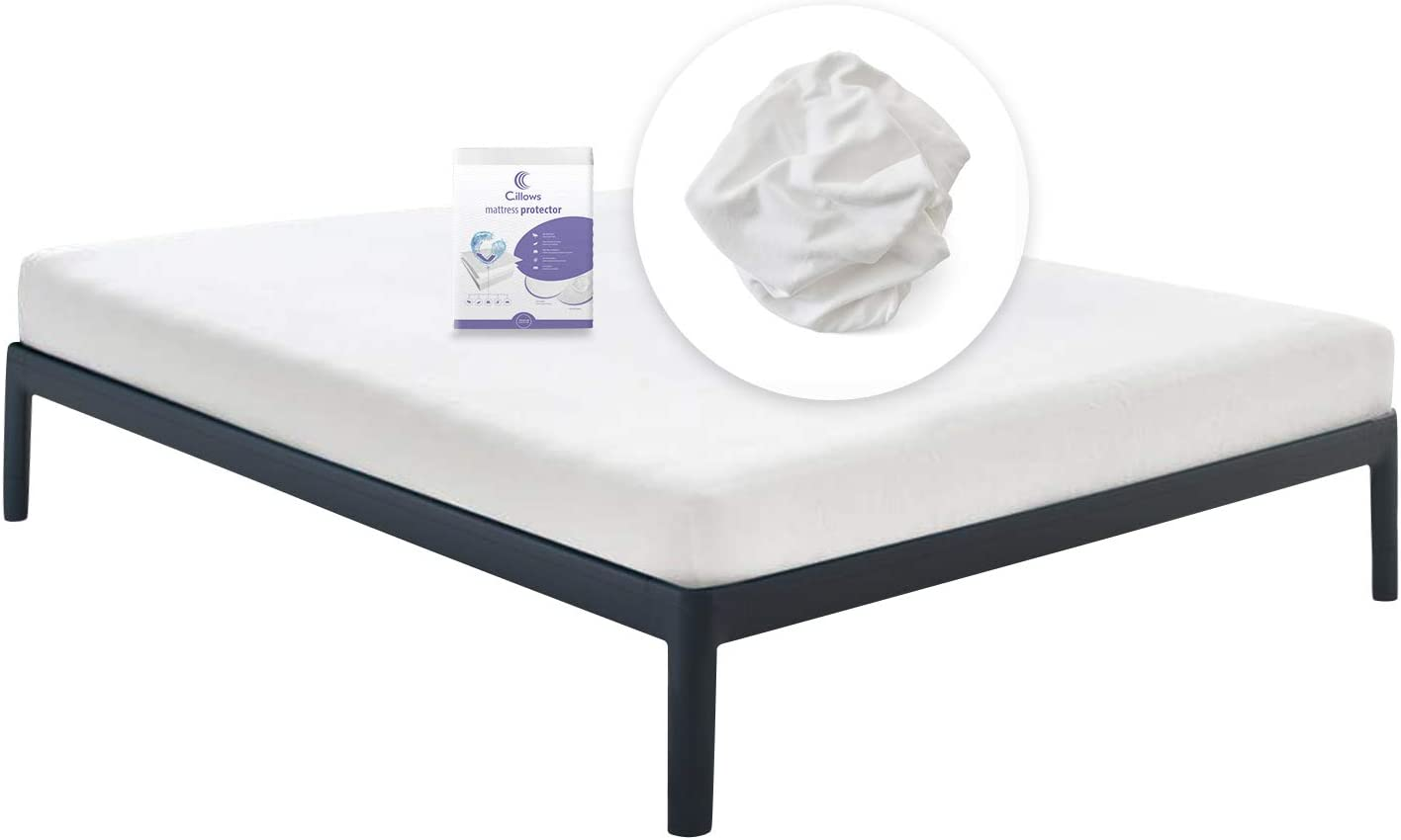 Surmatelas hygi/énique et respirant Protection contre les allergies Test/ée dermathologiquement Housse anti-acariens optimale 60 x 120 cm Prot/ège-matelas 100 /% imperm/éable Housse imperm/éable