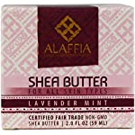 Alaffia Handcrafted Fair Trade Shea Butter 2 oz 14 100% FAIR TRADE: Feel good about how you are getting your products with 100% Certified Fair Trade Ingredients. PROTECT YOUR SKIN WITH A HANDCRAFTED FORMULA: Receive the full moisturizing and protective benefits of its unique fatty acid profile and Vitamins A and E with our traditionally handcrafted, unrefined shea butter. EVERYDAY FOR EVERYONE: Traditional formula suits all skin types.