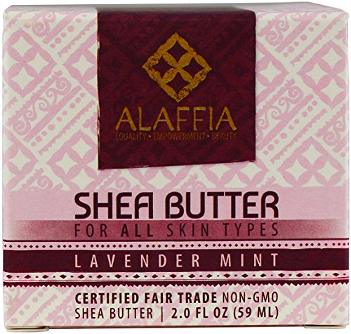 Alaffia Handcrafted Fair Trade Shea Butter 2 oz 5 100% FAIR TRADE: Feel good about how you are getting your products with 100% Certified Fair Trade Ingredients. PROTECT YOUR SKIN WITH A HANDCRAFTED FORMULA: Receive the full moisturizing and protective benefits of its unique fatty acid profile and Vitamins A and E with our traditionally handcrafted, unrefined shea butter. EVERYDAY FOR EVERYONE: Traditional formula suits all skin types.