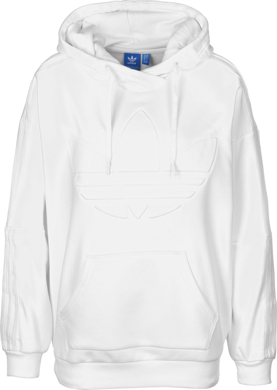 great fit undefeated x best value adidas Flock Hood Sweatshirt, Damen 34 weiß: Amazon.de ...