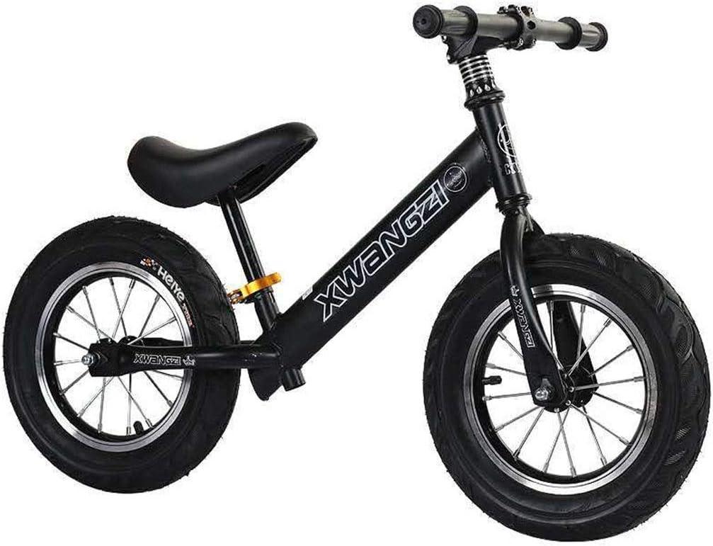 KELITE Equilibrio Bici - Bicicleta de Entrenamiento del niño Durante 18 Meses, 2, 3, 4 y 5 años for niños - Niños de Empuje/n Pedal Vespa Bicicleta con reposapiés
