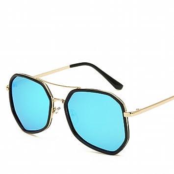 Gafas de Sol Polarizadas Personalizadas Polarizador Marea Gafas de Sol , Borde Dorado
